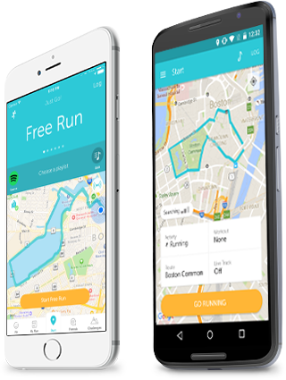 Running apps, RunKeeper